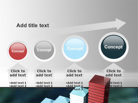 Bar Chart PowerPoint Template Slide 13