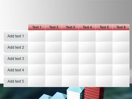 Bar Chart PowerPoint Template Slide 15