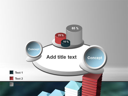 Bar Chart PowerPoint Template Slide 16