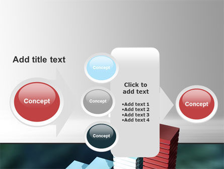Bar Chart PowerPoint Template Slide 17