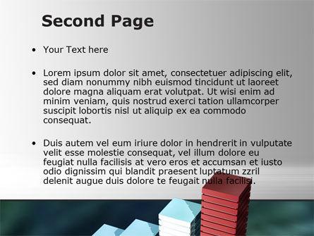 Bar Chart PowerPoint Template, Slide 2, 09775, Business Concepts — PoweredTemplate.com