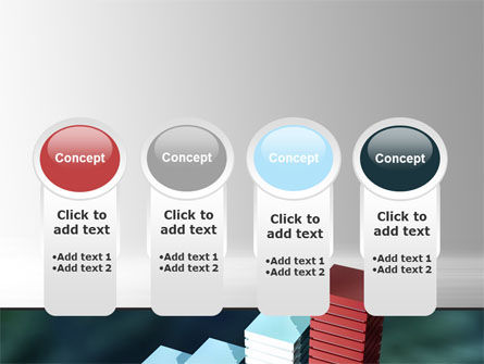 Bar Chart PowerPoint Template Slide 5