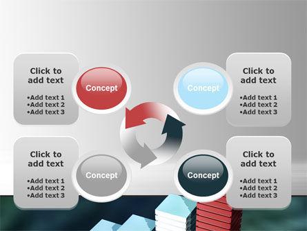 Bar Chart PowerPoint Template Slide 9