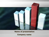 Business Concepts: Bar Chart PowerPoint Template #09775