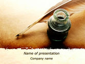 Education & Training: Poetry PowerPoint Template #09776