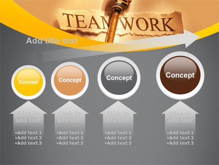 Key Of Teamwork PowerPoint Template Slide 13