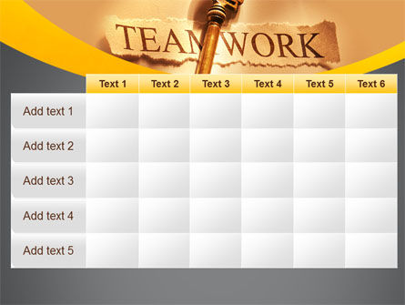 Key Of Teamwork PowerPoint Template Slide 15