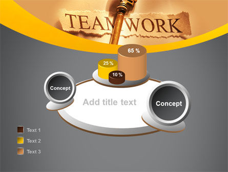 Key Of Teamwork PowerPoint Template Slide 16