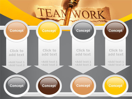 Key Of Teamwork PowerPoint Template Slide 18