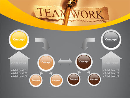 Key Of Teamwork PowerPoint Template Slide 19