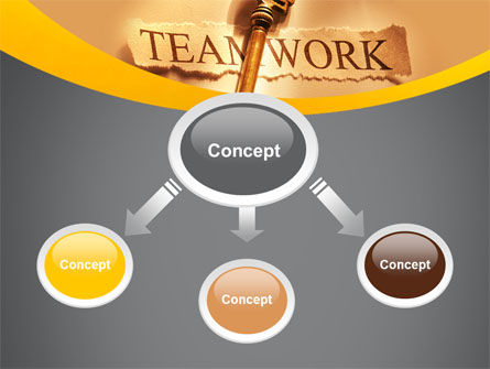 Key Of Teamwork PowerPoint Template Slide 4
