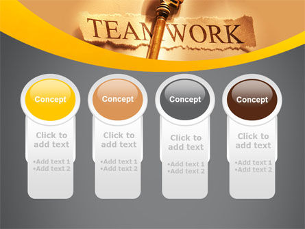Key Of Teamwork PowerPoint Template Slide 5