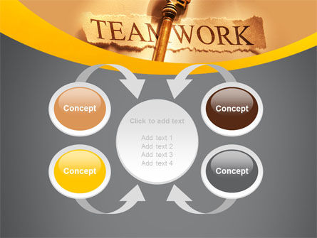 Key Of Teamwork PowerPoint Template Slide 6