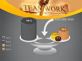 Key Of Teamwork PowerPoint Template#10
