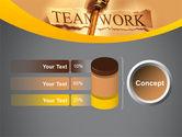 Key Of Teamwork PowerPoint Template#11