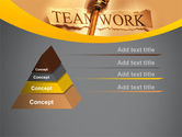 Key Of Teamwork PowerPoint Template#12