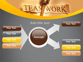 Key Of Teamwork PowerPoint Template#14