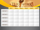 Key Of Teamwork PowerPoint Template#15