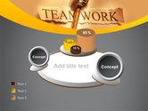 Key Of Teamwork PowerPoint Template#16