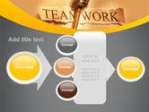 Key Of Teamwork PowerPoint Template#17