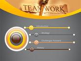 Key Of Teamwork PowerPoint Template#3