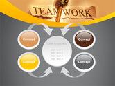 Key Of Teamwork PowerPoint Template#6