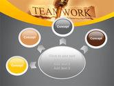 Key Of Teamwork PowerPoint Template#7