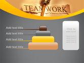 Key Of Teamwork PowerPoint Template#8