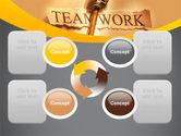 Key Of Teamwork PowerPoint Template#9