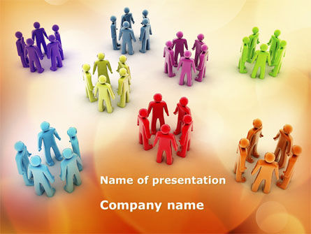 Communities Of Interest PowerPoint Template