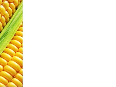 Ear Of Corn PowerPoint Template, Slide 3, 09782, Agriculture — PoweredTemplate.com