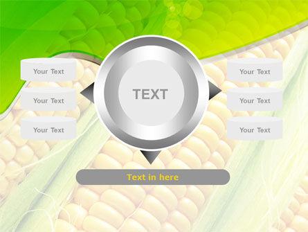 Ear Of Corn PowerPoint Template Slide 12