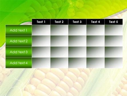 Ear Of Corn PowerPoint Template Slide 15