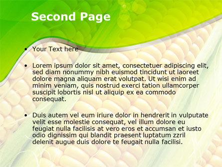 Ear Of Corn PowerPoint Template Slide 2