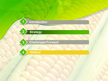 Ear Of Corn PowerPoint Template Slide 3