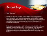 Credit Card On the Keyboard PowerPoint Template#2