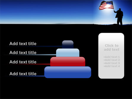 Flag of the USA PowerPoint Template Slide 8