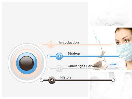 Children's Health Center PowerPoint Template, Slide 3, 09789, Medical — PoweredTemplate.com