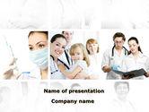 Medical: Children's Health Center PowerPoint Template #09789