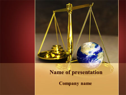 Earth For Sale PowerPoint Template
