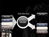 Chain Transmission PowerPoint Template#14