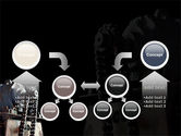 Chain Transmission PowerPoint Template#19