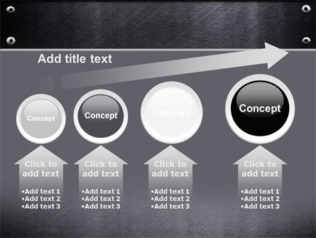 Steel Plate PowerPoint Template Slide 13
