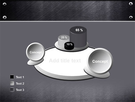 Steel Plate PowerPoint Template Slide 16