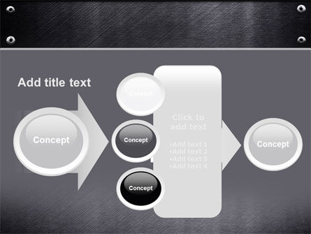 Steel Plate PowerPoint Template Slide 17