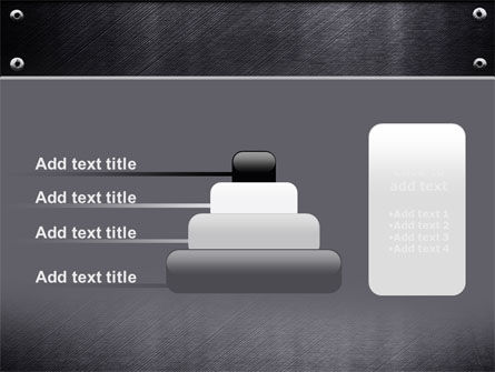 Steel Plate PowerPoint Template Slide 8