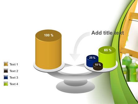 Green Paint Cun PowerPoint Template Slide 10