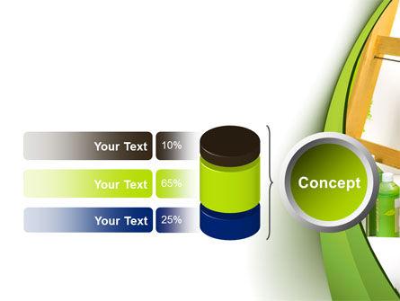 Green Paint Cun PowerPoint Template Slide 11