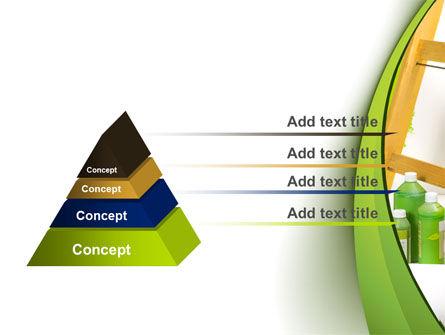 Green Paint Cun PowerPoint Template Slide 12
