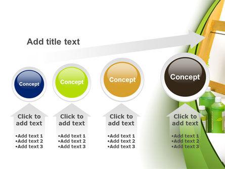 Green Paint Cun PowerPoint Template Slide 13